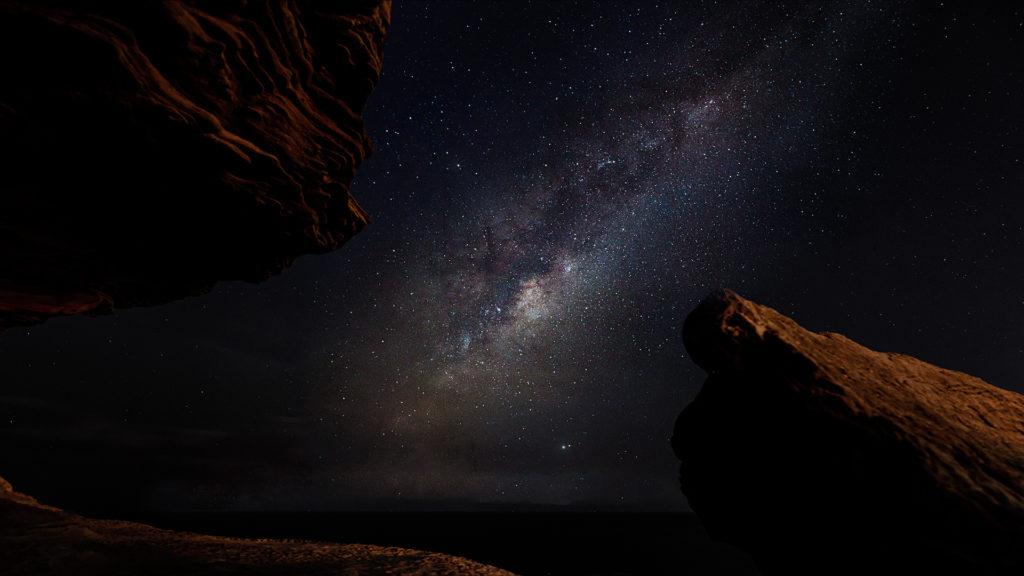 Milky way at Sydney beaches