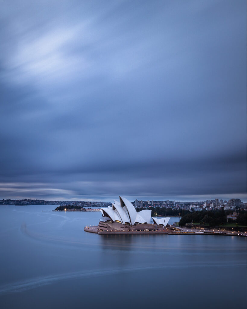 Moody Sydney Opera House